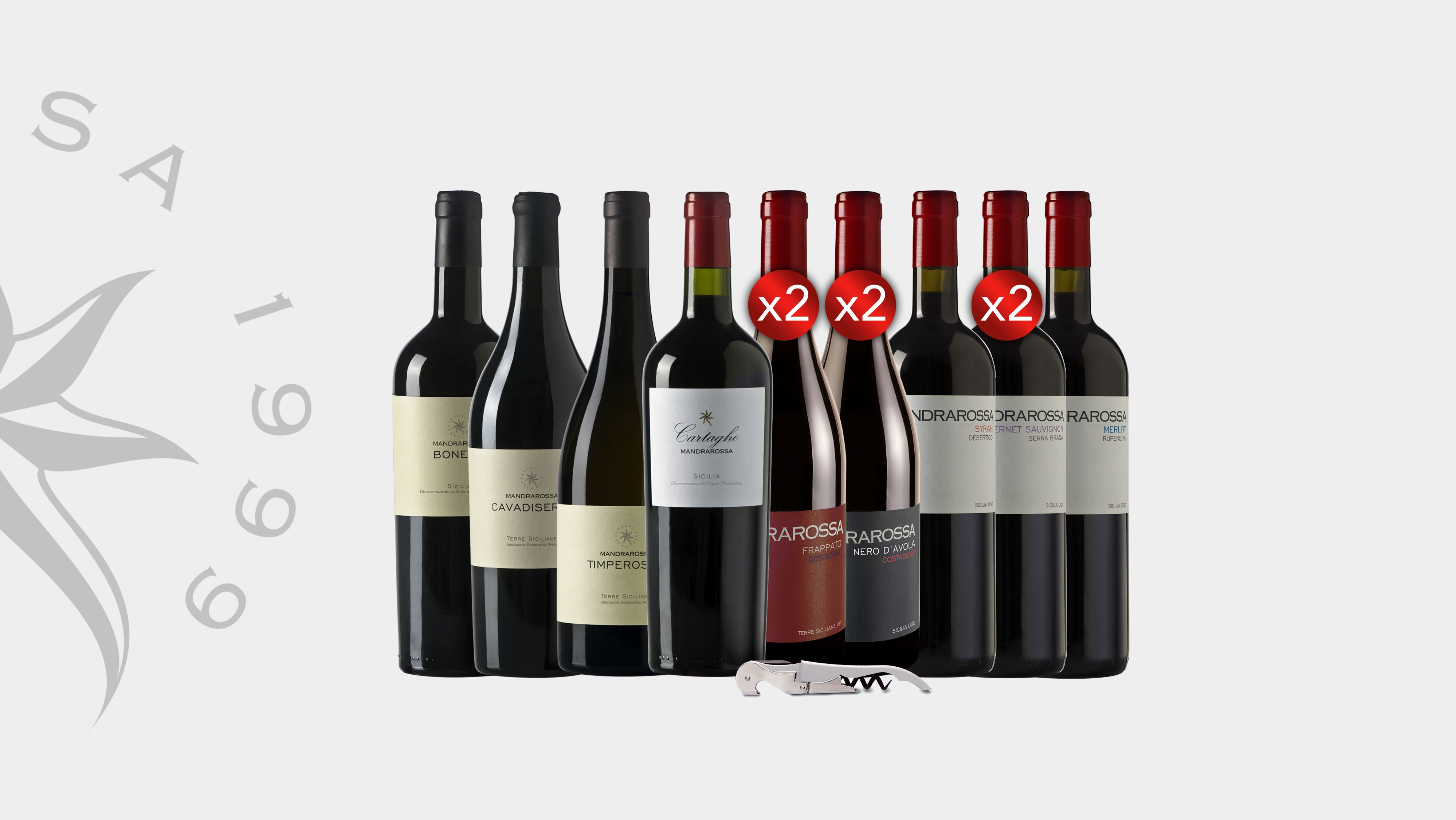 12 Vini Rossi Siciliani